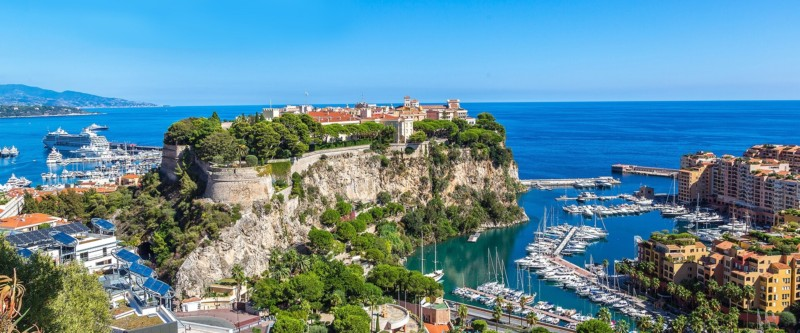 Monaco and the Surrounding Area