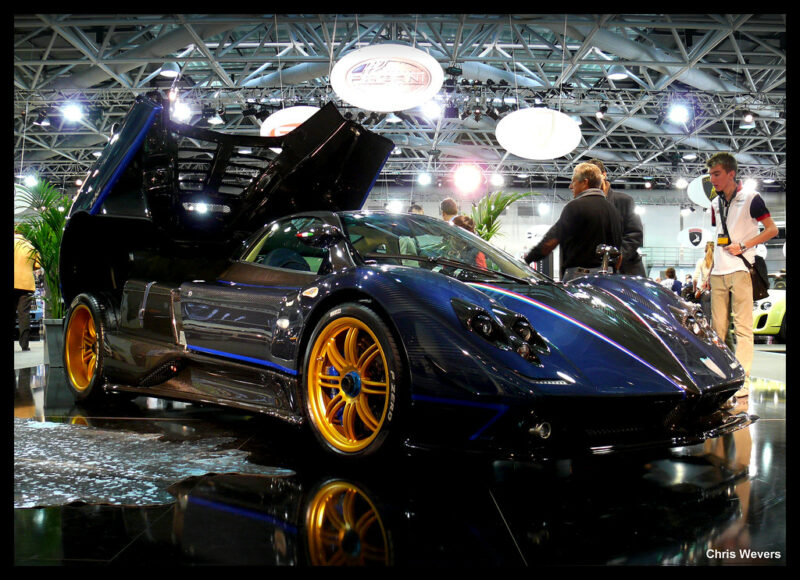 Pagani Zonda Tricolore on Top Marques Monaco 2010