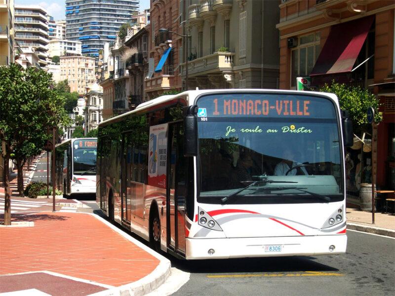 Monaco bus