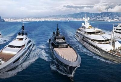 Super yachts in Cannes