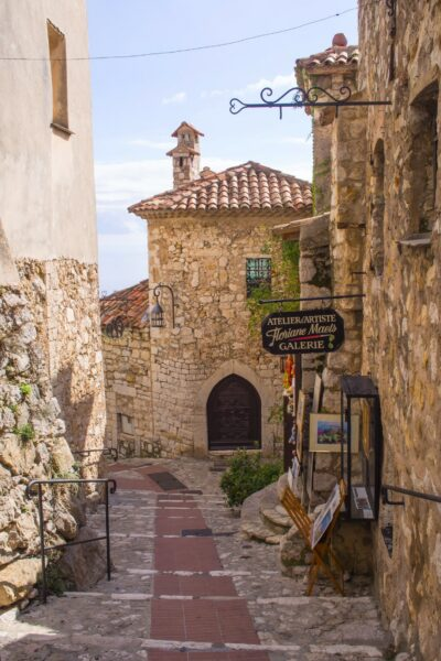 Old street in Eze