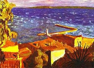 La jetée de Saint-Tropez, Pierre Bonnard, 1912