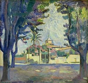 Places des Lices, Saint-Tropez, Henri Matisse, 1904