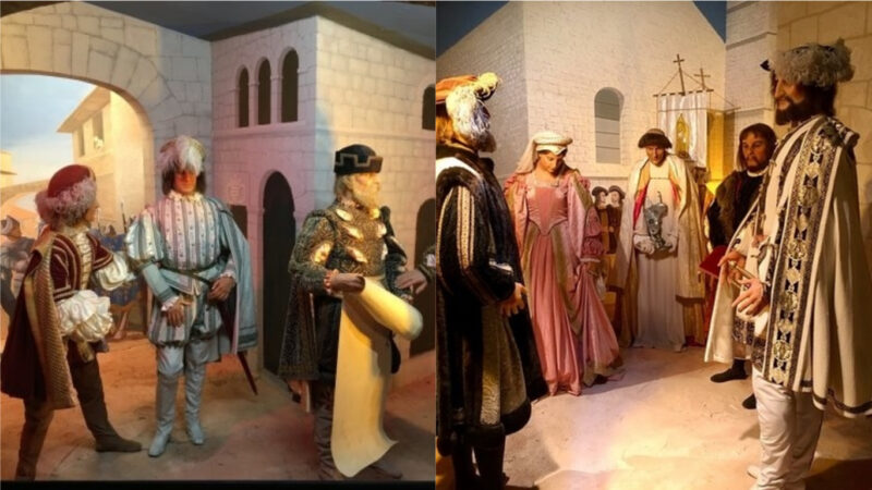 Dioramas of Historical Persons in the Local Historical Museum