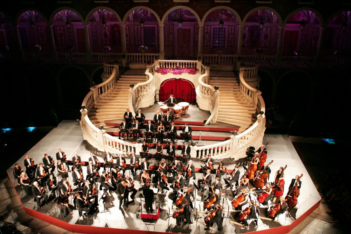 Operatic stage in the palace