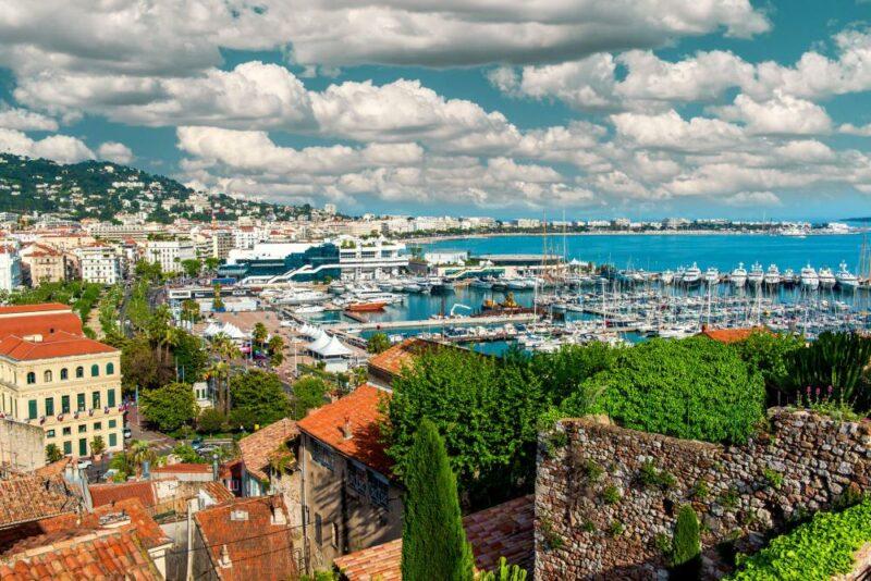 Le Suquet and the Vieux Port