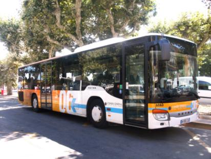 Lignes d'Azur bus