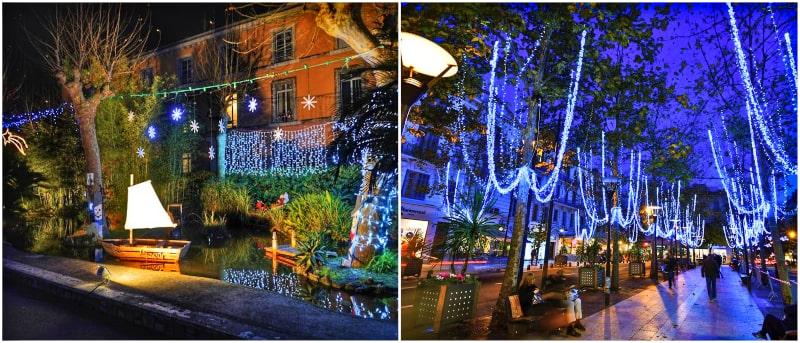 antibes christmas juan-les-pins street lights