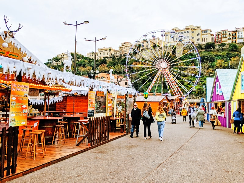 Monaco and Monte-Carlo Christmas Village