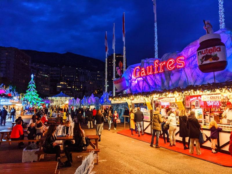 Monaco and Monte-Carlo Christmas Market