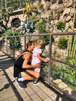 travel with kids french riviera